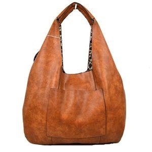 Cute Fashion Shoulder Bag Leopard Print Inside